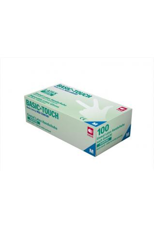 Latex Untersuchungshandschuh Basic-Touch puderfrei (100 Stck)