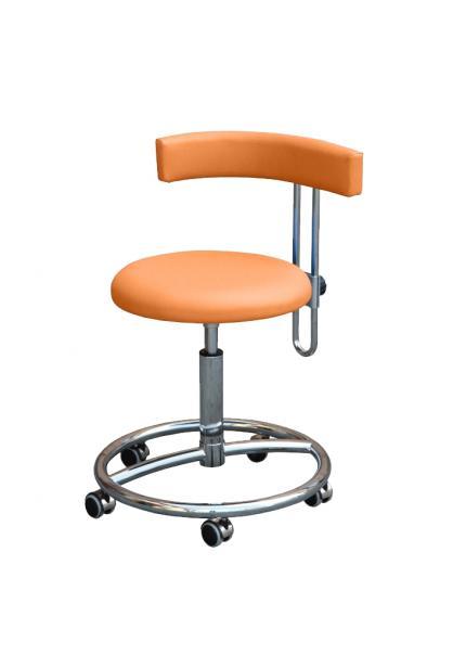 arbeitsstuhl belmed mit fu ring und h henverstellbarer r ckenlehne online kaufen im shop. Black Bedroom Furniture Sets. Home Design Ideas