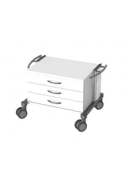 Unterfahrwagen Swigo 60 mit drei Schubladen