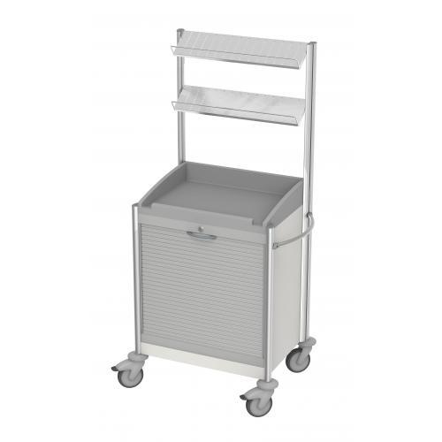 Verband- und Behandlungswagen keo III mit Rollladen