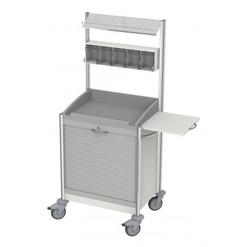 Verband- und Behandlungswagen keo V mit Rollladen