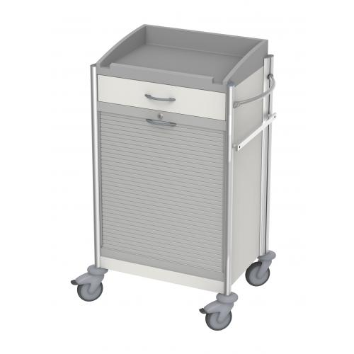 Behandlungswagen keo ISO-Modulwagen IV mit Rollladen