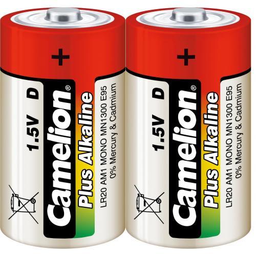 Camelion Plus Alkaline Batterie Typ LR 20 Mono