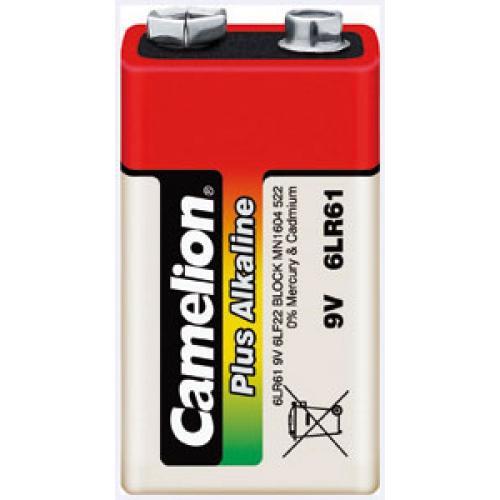Camelion Plus Alkaline Typ 6LR61 E-Block Batterie