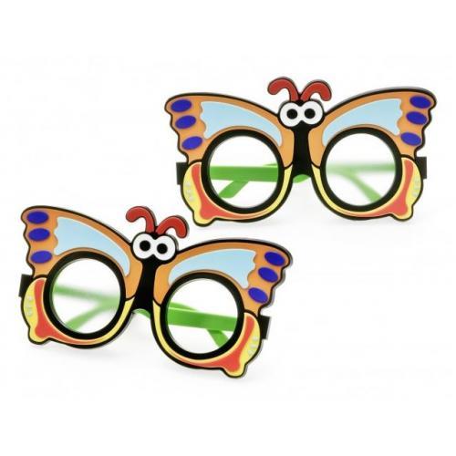 Abdeckbrille-Set Schmetterling für Kinder