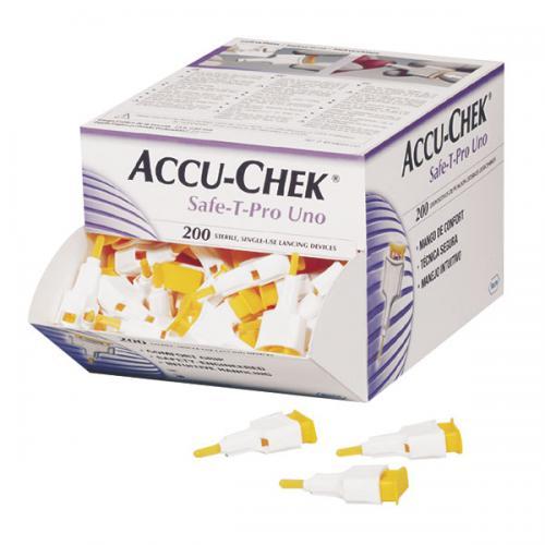 Blutlanzetten Accu-Chek Safe-T-Pro (200 Stck)