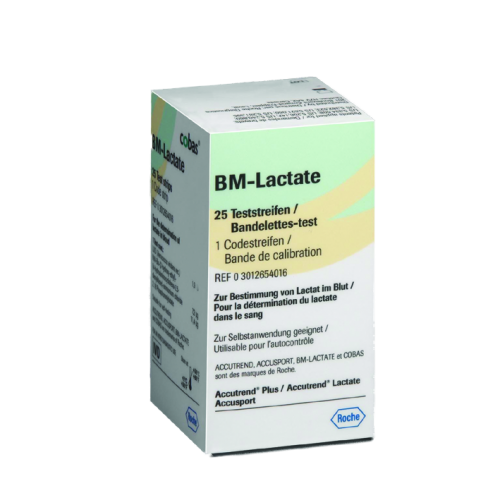 Accutrend BM-Lactate Teststreifen (25 Stck)