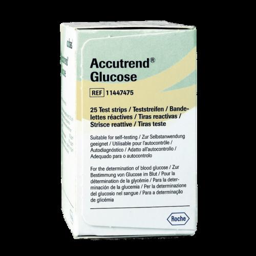 Accutrend Glucose Teststreifen (25 Stck)