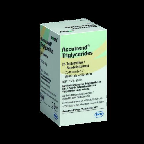 Accutrend Triglyceride Teststreifen (25 Stck)