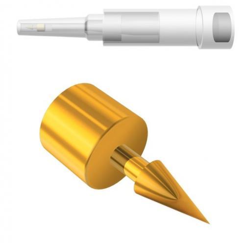APEX Gold Dauernadeln Ohrakupunktur asiamed (100 Stck)