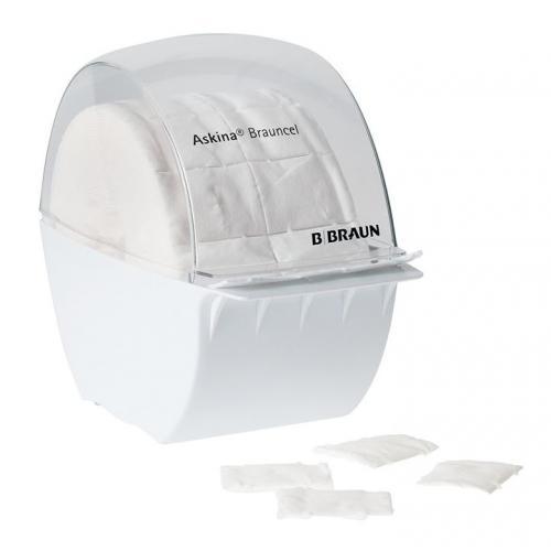 Askina Brauncel –Box Zellstofftupfer Spender