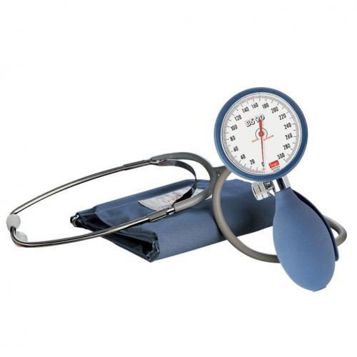 Blutdruckmessgerät boso BS 90 Ø 60 mm mit Stethoskop und Klettmanschette