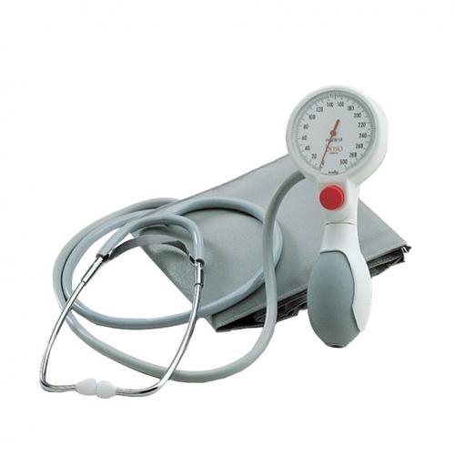 Blutdruckmessgerät boso egotest mit Stethoskop und Klettmanschette
