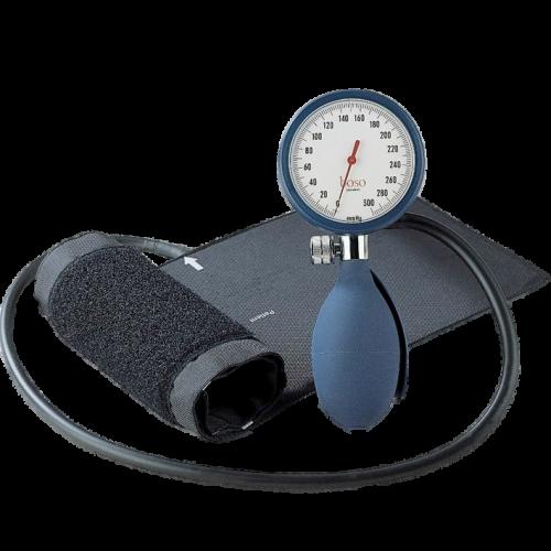 Blutdruckmessgerät boso clinicus Ø 60 mm mit Klettmanschette