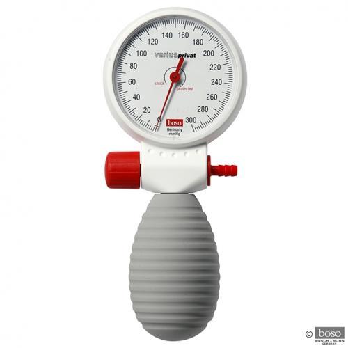 Blutdruckmessgerät boso varius privat Ø 60 mm mit Stethoskop und Klettmanschette