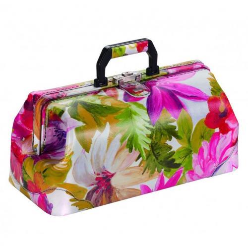 Arzttasche Bollmann PRACTICUS Leder Flowers-Design