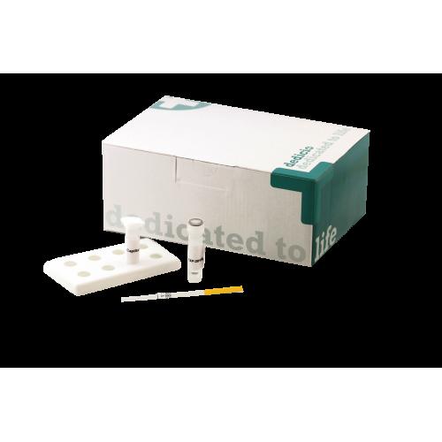 CrP Schnelltest 10-40-80 von dedicio (10 Teststreifen)