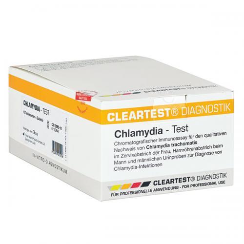 Chlamydia Schnelltest von Cleartest (10 Stck)