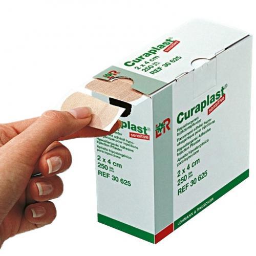 Curaplast Injektionspflaster Sensitive (250 Stck)