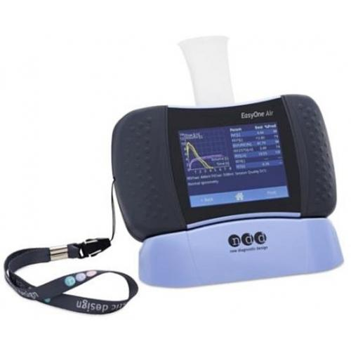EasyOne Air Spirometer mit ndd TrueFlow Ultraschall-Technologie