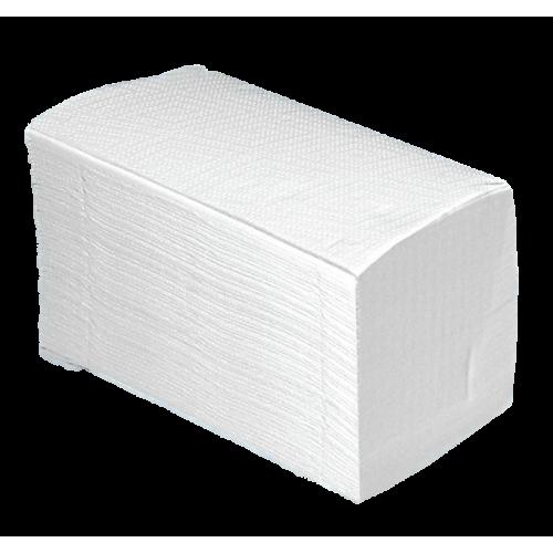 Papier-Handtücher weiß 2-lag. 25 x 21 cm (4000 Tücher)