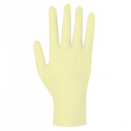 Gentle Skin classic Latex Untersuchungshandschuhe pf (100 Stck) Gr. M