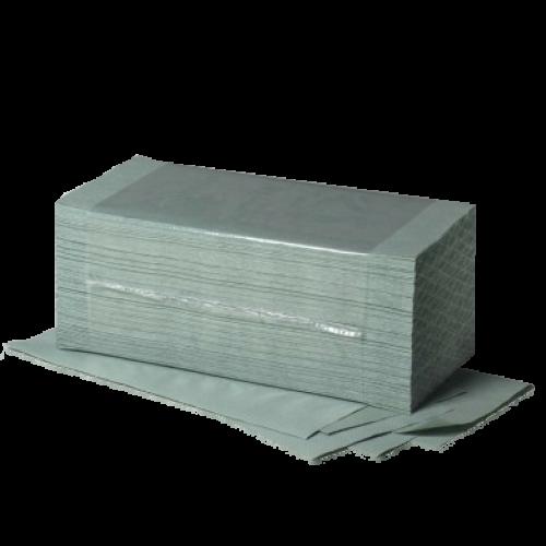 Papierhandtücher 1- lag. Fripa Grün 25 cm x 23 cm (5000 Tücher)