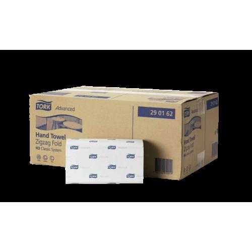 Papierhandtücher 2- lag. Advanced von TORK weiss 25 x 23 cm (3750 Tücher)