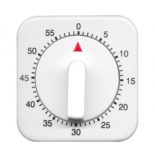 Laborwecker weiß 60 Minuten