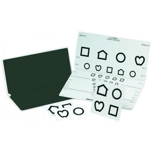 LEA Symbole Ferntafel 10 Reihen
