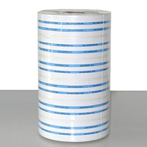Ersatzrollen für MELAdoc (6 Ersatzrollen á 750 Etiketten inkl. einer Farbwalze)