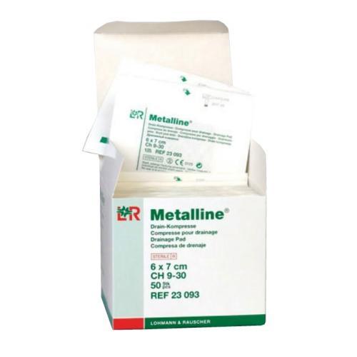 Metalline Drain Drainagekompresse steril (50 Stck)