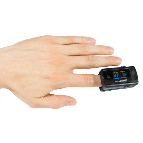 ME10 Finger-Pulsoximeter mit Alarmfunktion