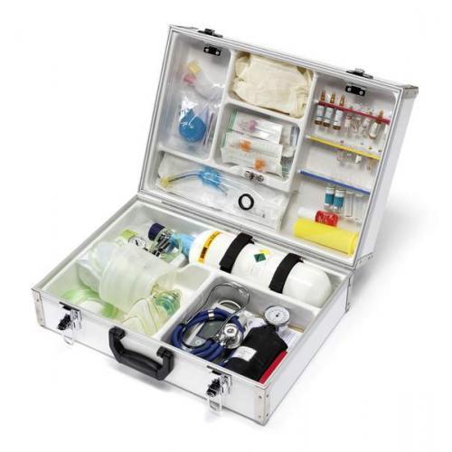 Notfallkoffer EuroSafe III leer oder gefüllt