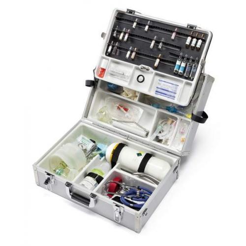 Notfallkoffer EuroSafe IV leer / gefüllt