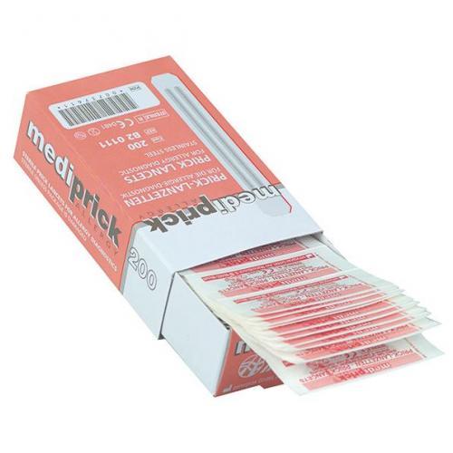 Pricktest-Lanzetten Mediprick Allergielanzetten (200 Stck)