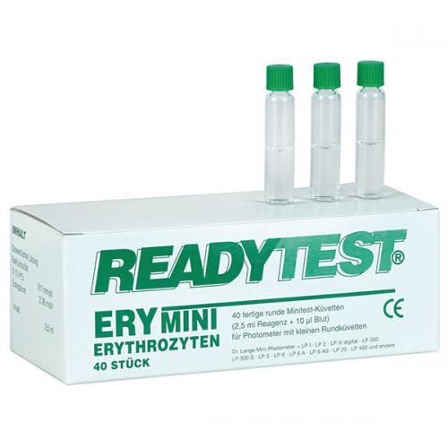 Rundküvetten Test HB und ERY (40 Stck)