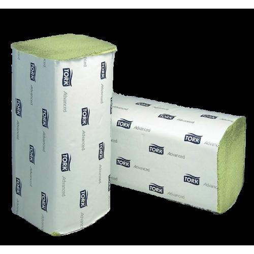 Papierhandtücher 1- lag.  Advanced von TORK grün 25 x 23 cm (3750 Tücher)