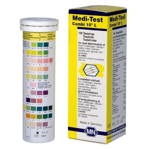 Urinteststreifen Medi -Test Combi10L