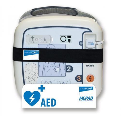 Wandhalterung zu ME PAD Defibrillator