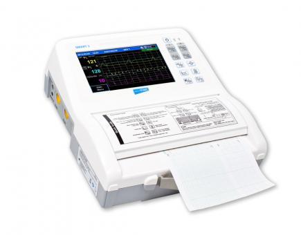 CTG-Gerät Smart 3 Zwillings-Fetalmonitor + ECOsound Fetaldoppler gratis